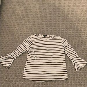 Long sleeve striped shirt from j-crew